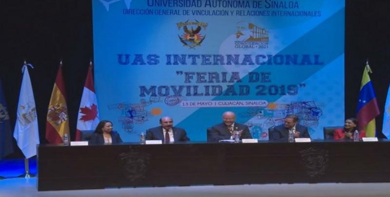 Se realizó la Feria de Movilidad Estudiantil UAS 2019
