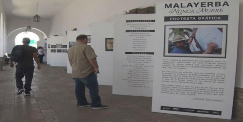 Se inauguró la Exposición Malayerba, Nunca Muere