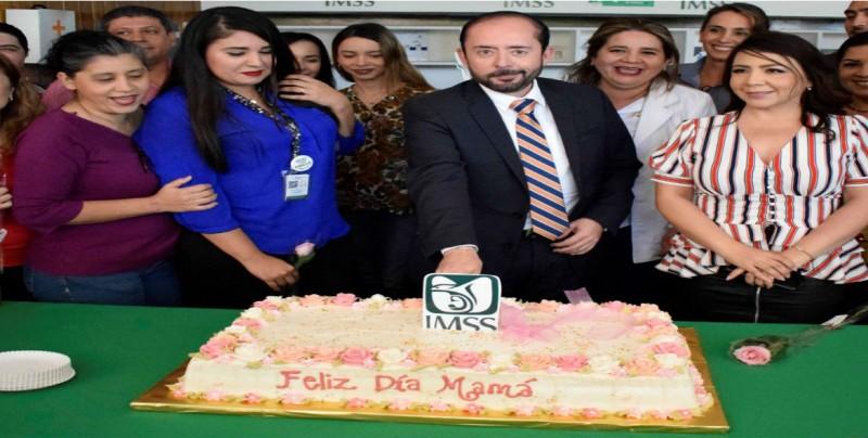 IMSS Sinaloa festeja a las mamás