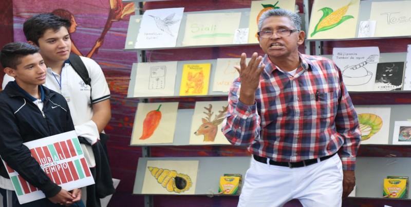En voz de los cuentacuentos, dan vida a relatos del típico personaje del sur de Sinaloa