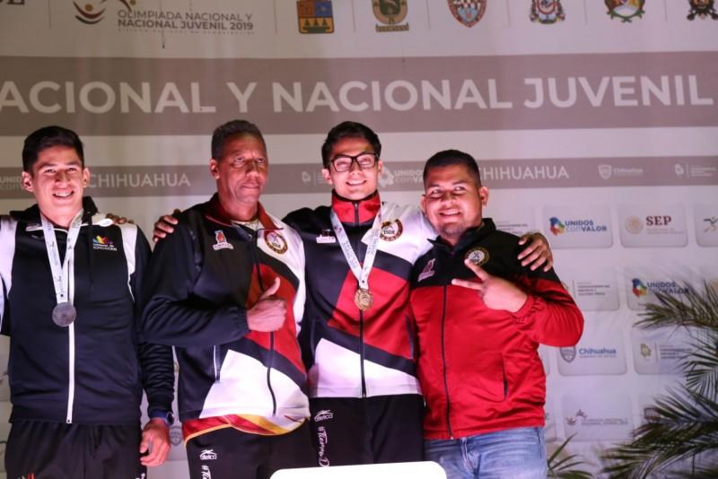Sinaloa logra tres oros en atletismo en Olimpiada nacional 2019