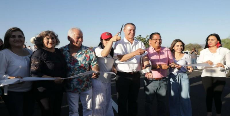 Listos los trabajos de reencarpetado de la Carretera Guamúchil-Angostura