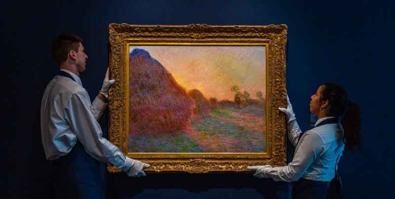 Cuadro de Monet rompe récord mundial al ser subastado por más de 110 millones de dólares
