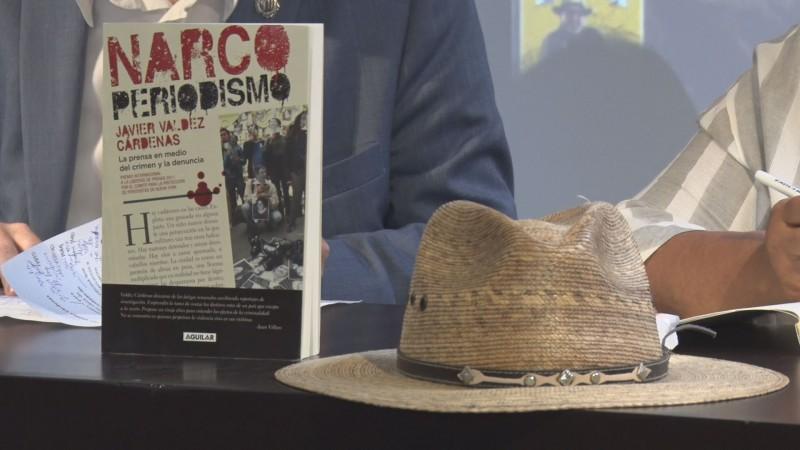 "Presentan último libro de Javier ""Narco Periodismo """