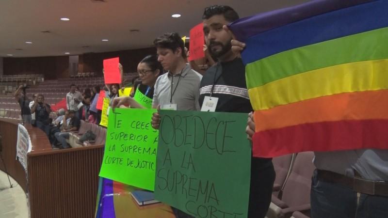 5 año exigiendo por sus derechos la comunidad de la diversidad sexual