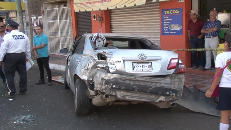 Sinaloa en el tercer lugar nacional de mortalidad por accidentes viales