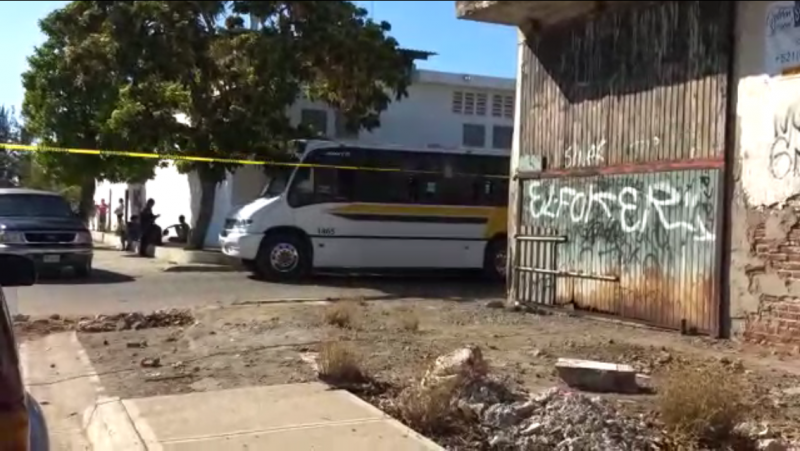 Muere operador de camión urbano al parecer fue asaltado