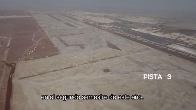 Aeropuerto de Santa Lucía tendrá inversión inicial de 15 mil millones de pesos
