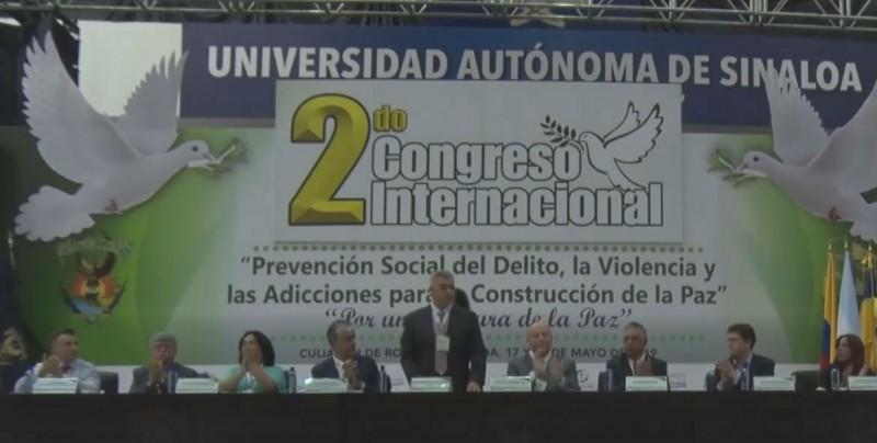 Congreso internacional prevención social del delito, la violencia y las adiciones