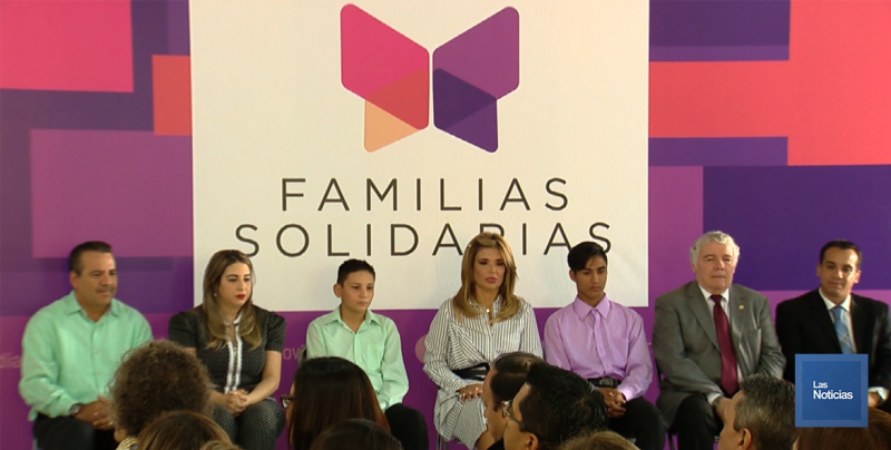 Presenta CPA programa Familias Solidarias