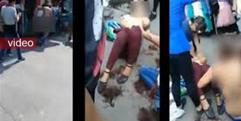 Desnudan y golpean a presuntas ladronas en Chiapas