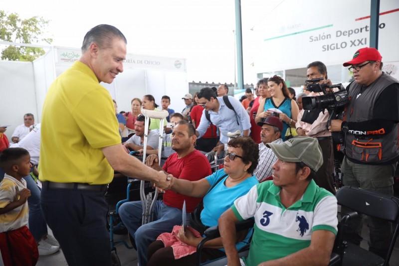 Encabeza gobernador en Los Mochis jornada de apoyo Puro Sinaloa