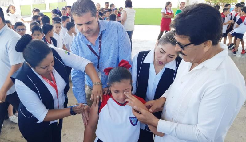 Inician acciones de vacunación en el marco de la Segunda Semana Nacional de Salud