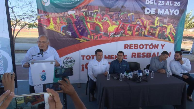 Llega el Rebotón y Resbalón a Mazatlán
