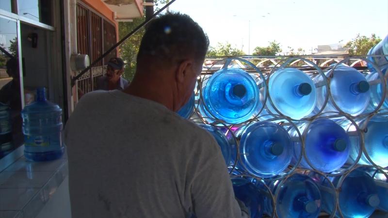 Hasta purificadoras de agua potable se quedan sin el vital líquido