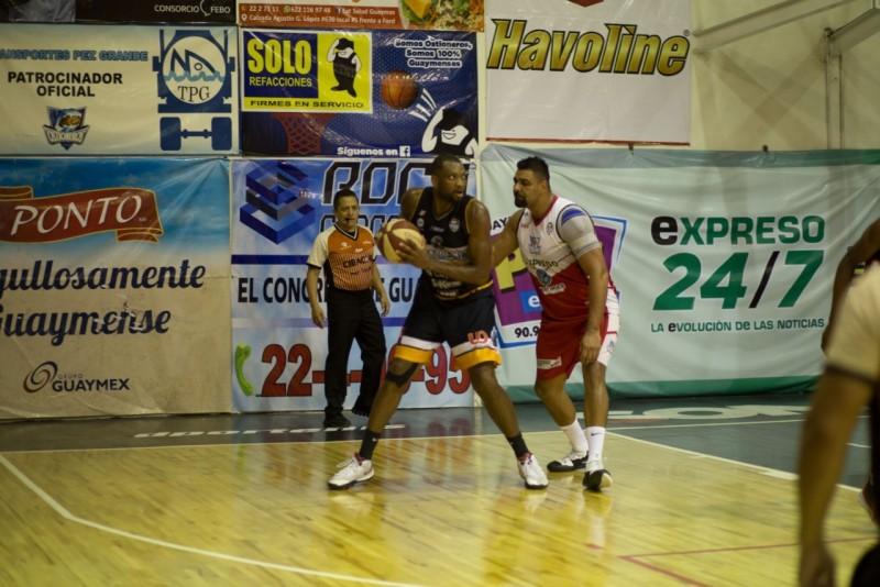 Caballeros pierdeel primero ante Ostioneros en el Basquetbol CIBACOPA