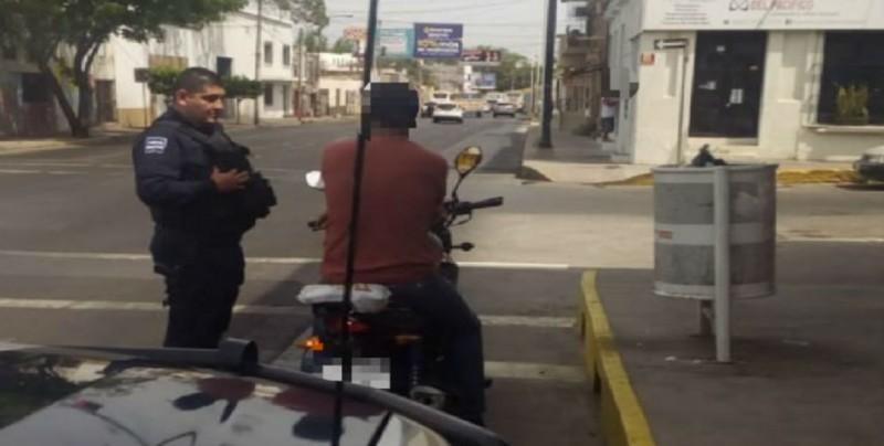 SSPyTM hace un llamado a respetar las leyes de tránsito a motociclistas