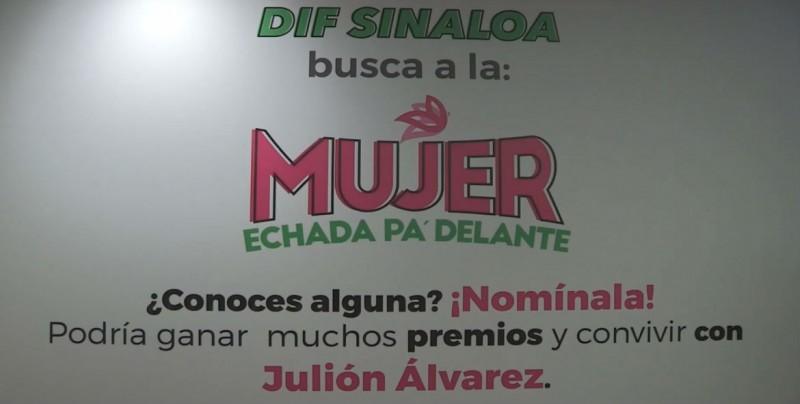 DIF Sinaloa busca reconocer a la mujer echada pa delante