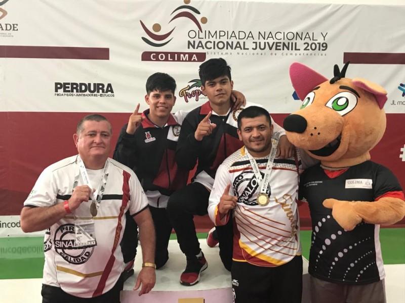 Judo da dos medallas de oro a Sinaloa en la Olimpiada Nacional 2019