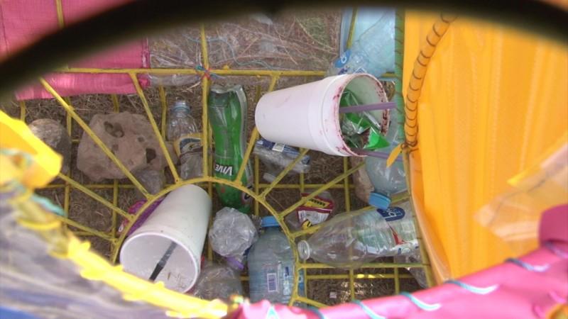 Alcanza vandalismo también a contenedores PET en Mazatlán