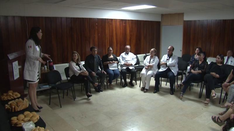 Realizan homenaje póstumo al ex director de la clínica del ISSSTE