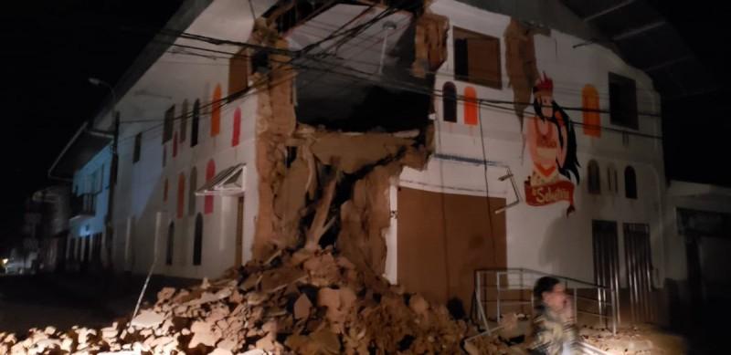 Terremoto de magnitud 8 sacude Perú, Colombia y Ecuador