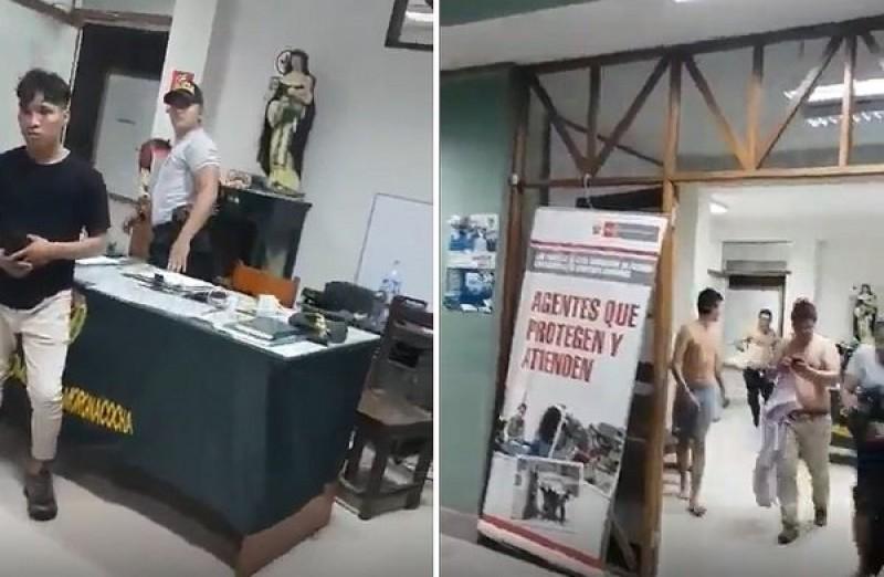 Tras sismo de Perú, detenidos intentan escapar de comisaría