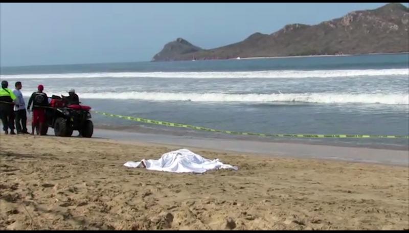 Muere adulto mayor en playas de Mazatlán