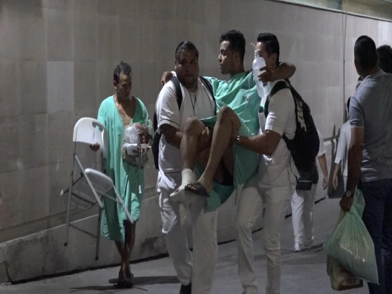Evacuan a 200 pacientes del Hospital de Zona #3 del IMSS por incendio