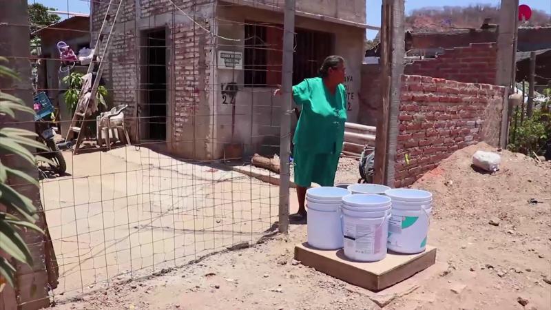 Sin agua y con mucha inseguridad en la colonia Lomas del Ébano
