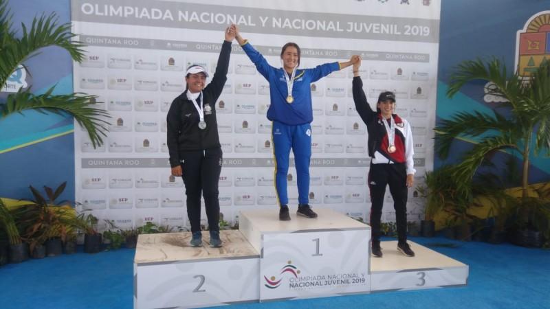 Paola Ramos da segunda medalla de bronce a Sinaloa en Tiro con Arco en la Olimpiada Nacional