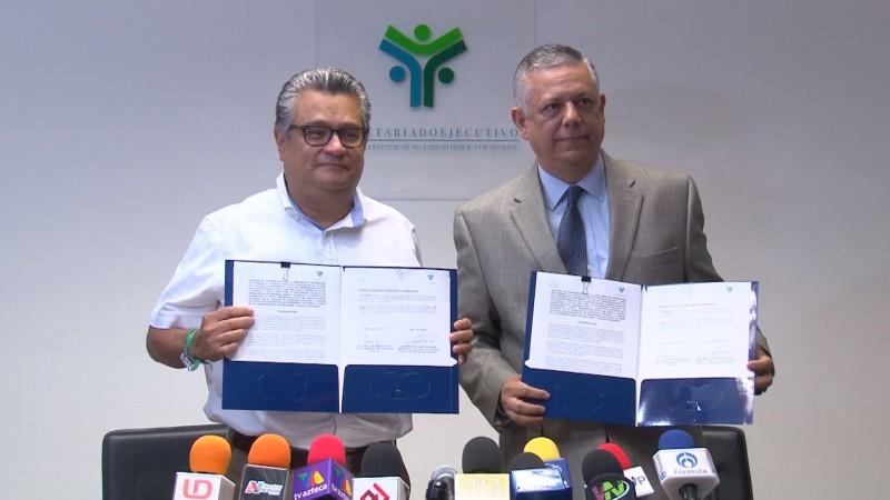 Fiscalía de Sinaloa firma convenio para el traslado de información al SESESP