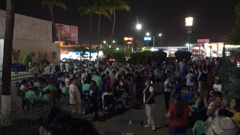 Regresan al Hospital del IMSS pacientes evacuados: Delegado