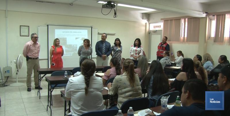 Capacitan a maestras de preescolar sobre Protección Civil
