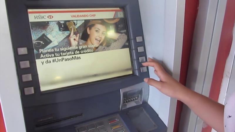Delincuentes usan nueva técnica para robar en cajeros automáticos