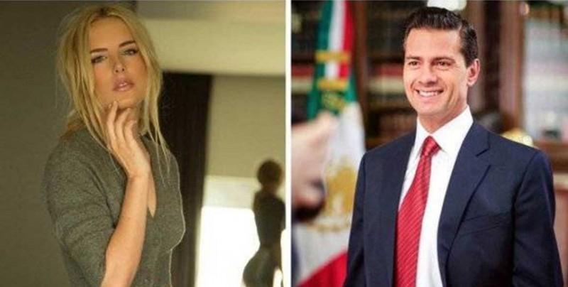Dedicatoria de amor de Tania Ruiz a EPN