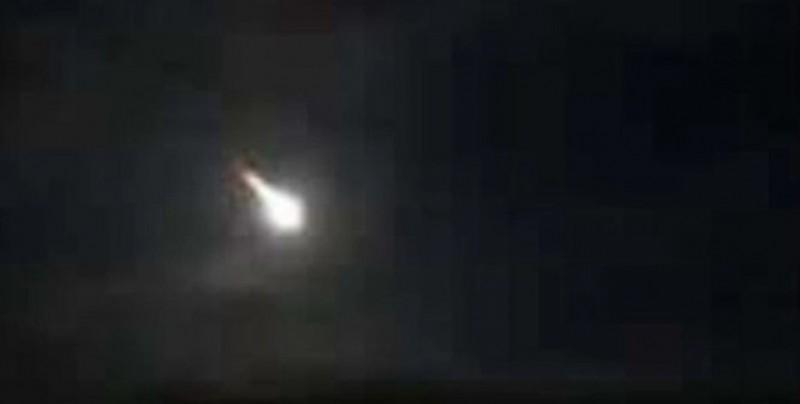 #Video Cayó un meteorito en Michoacán y así se vio