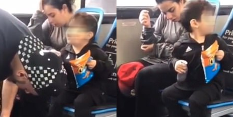 Niño intenta desesperadamente despertar a sus padres drogados
