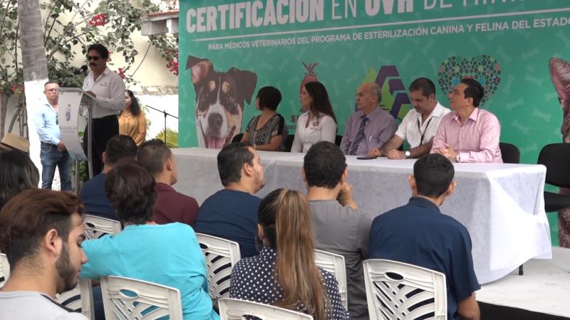 Inauguran capacitación para certificación de médicos veterinarios en Mazatlán