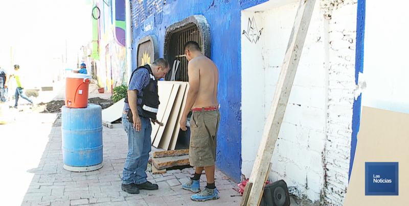 Suspende PC Municipal obra en construcción y exige reparar los riesgos ocasionados