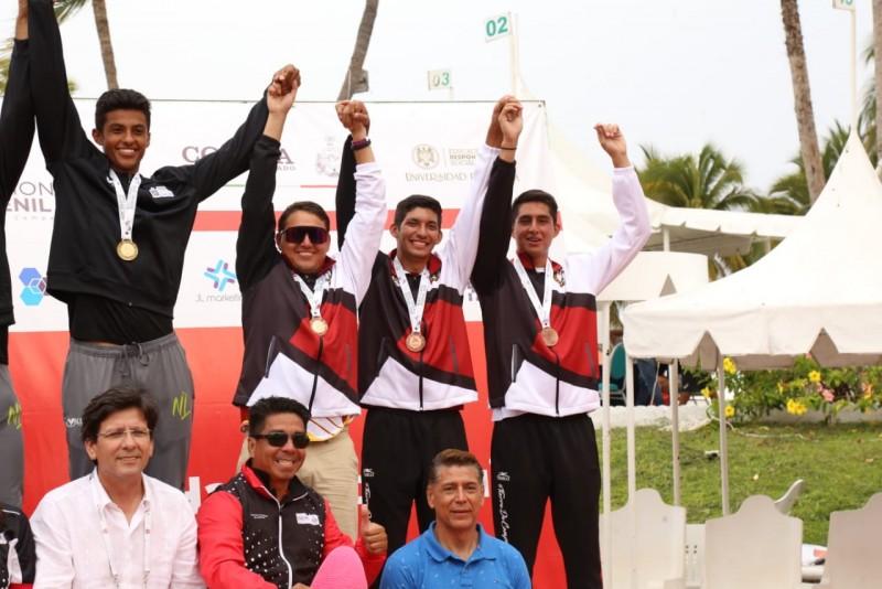 Bronce para Sinaloa en Voly de Playa