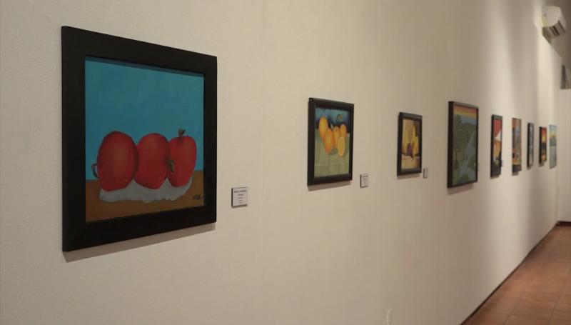 Escuinapenses y Rosarenses exponen sus obras en Mazatlán