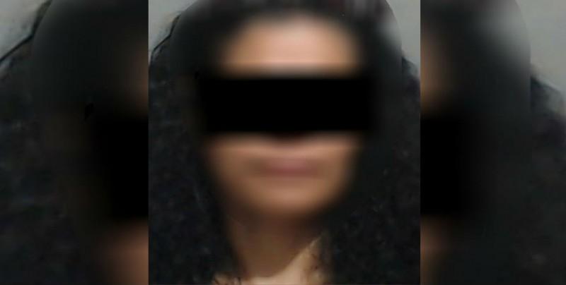 Una mujer fue detenida por elementos de la SSPyTM