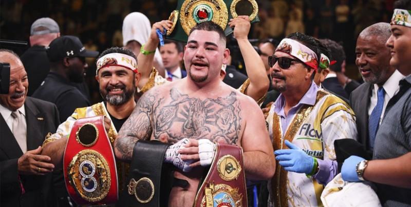 """""""El Canelo"""" defiende a Andy Ruiz tras recibir fuertes críticas"""