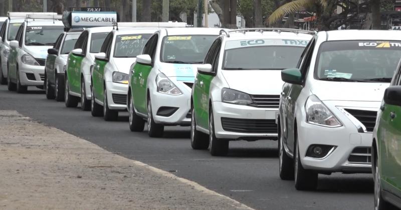 Frente transportista se manifiesta contra plataformas digitales