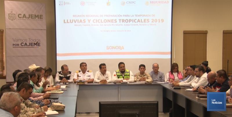 Se preparan municipios del Sur por temporada de Huracanes