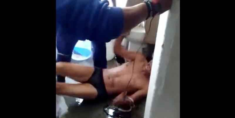 Difunden video de tortura a un reo en penal de Texcoco