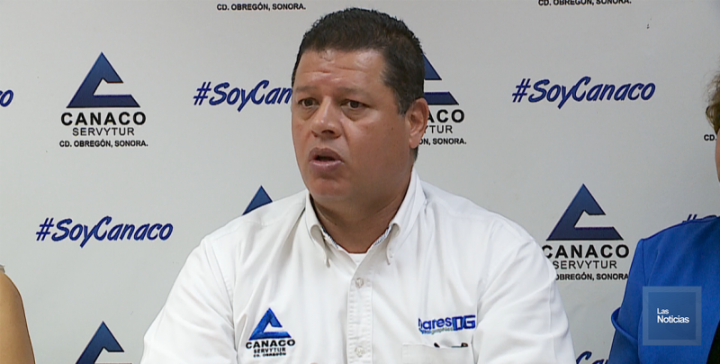 Cajeme también se beneficia del Yecorazo: Presidente de Canaco