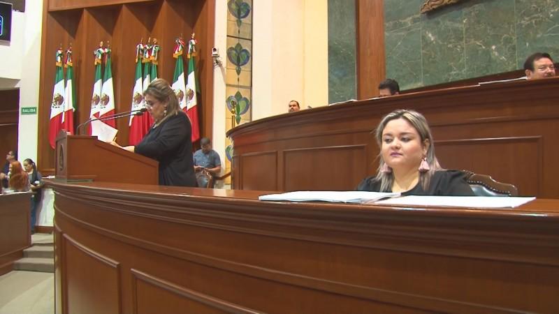 Denuncia Graciela Domínguez que diputados de MORENA son objeto de presiones y sobornos