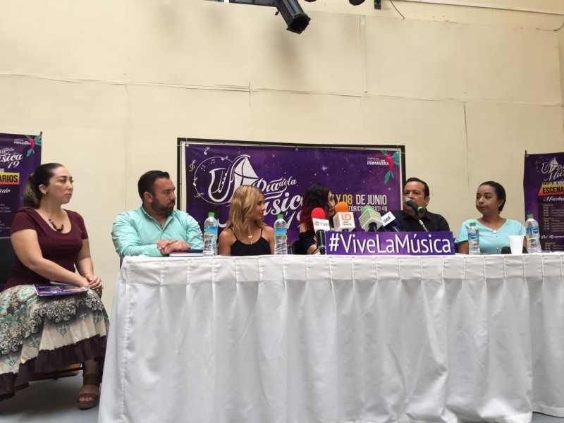 """Celebrarán el """"Día Internacional de la Música 2019"""" en Mazatlán"""